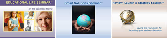Computer Based Training Presentations - Educational Life Seminar, Smart Solutions Seminar, and Review, Launch and Strategy